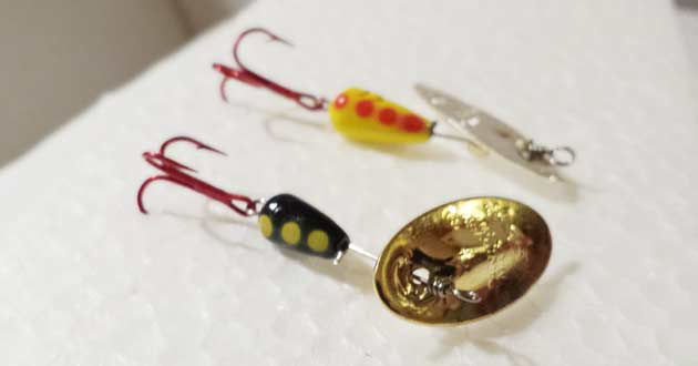 Panther Martin Inline Spinners for Trout