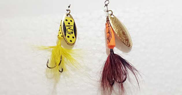 Rooster Tail Inline Spinner Lures